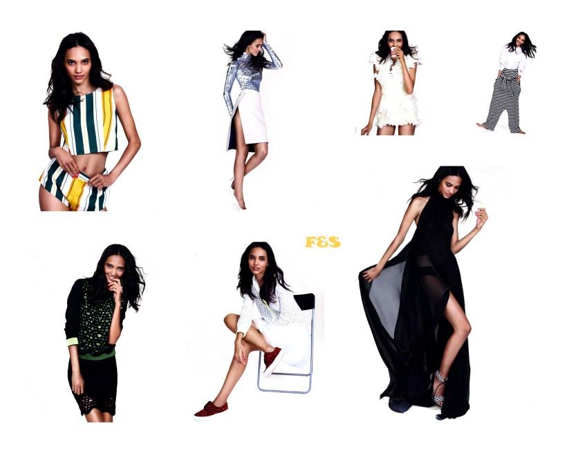Cora Emmanuel pour Elle Magazine
