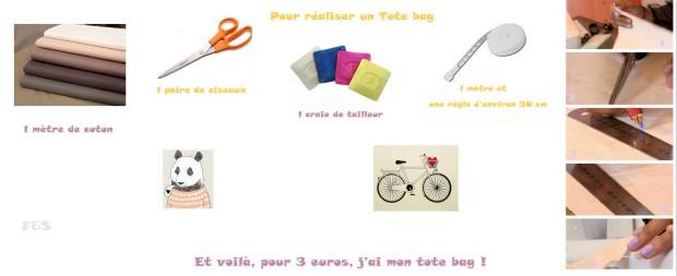 Réaliser son Tote Bag à la maison