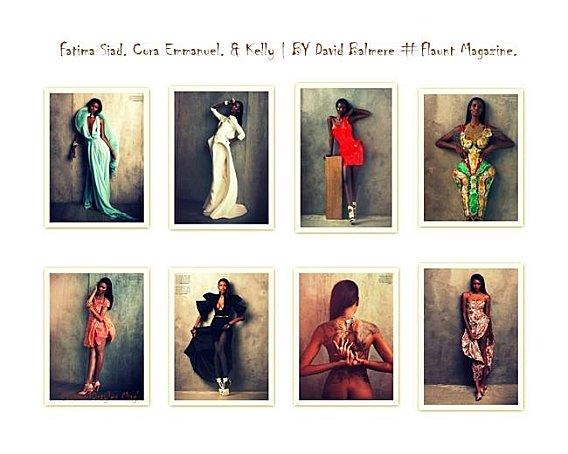 Fatima Siad, Cora Emmanuel & Kelly. Flaunt magazine