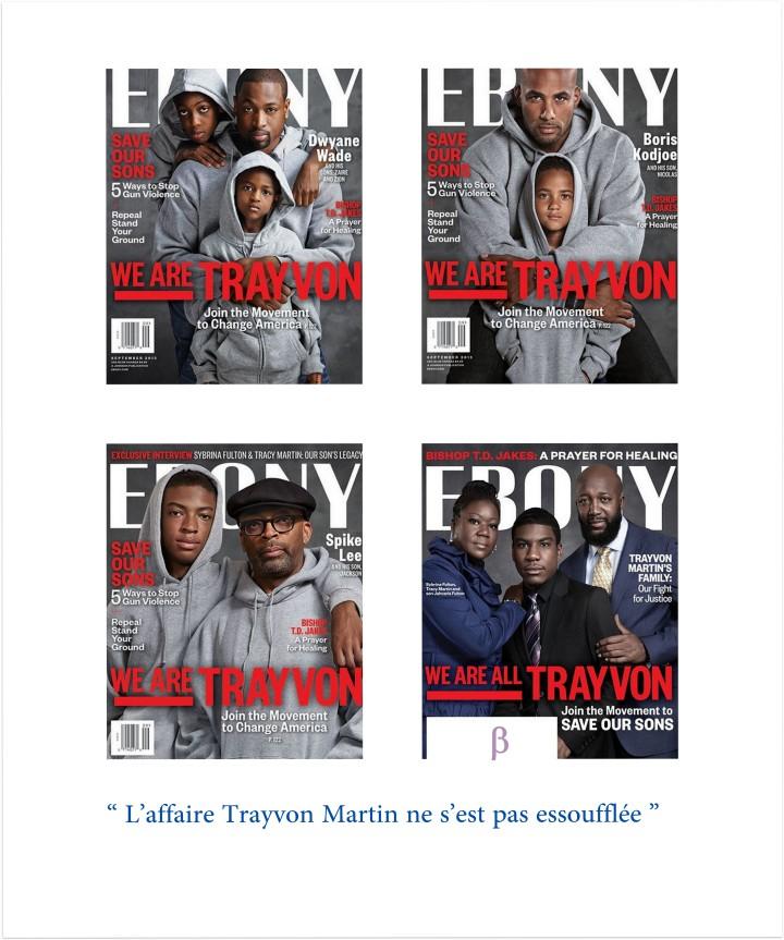 Le magazine Ebony rend hommage à Trayvon Martin