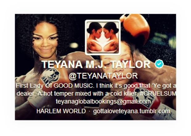 rihanna Teyanna clash twitter