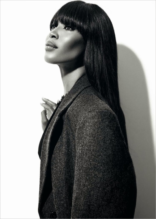 Naomi Campbell photographed by Xevi Muntane for Harper's Bazaar Spain 2013