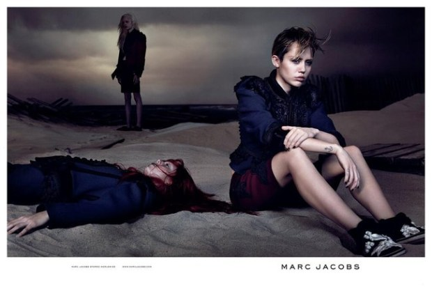 Miley Cyrus, morbide pour Marc Jacobs