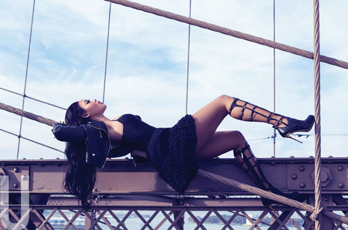 Angela Simmons pour Uptown Magazine 2014