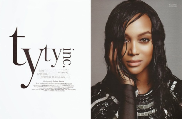 Tyra Banks by Joshua Jordan