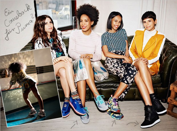 "Collection ""Girls of Blaze"" par Solange Knowles pour PUMA"