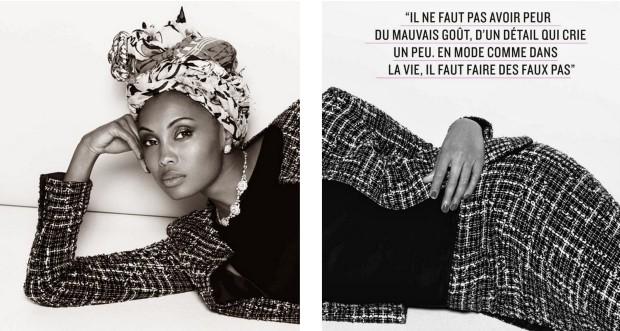 imany Linda - Be Magazine France April 2014