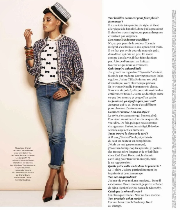 Styles popular in france 2014 imany linda fashion styles for Style ricain