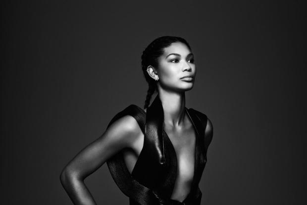 Chanel Iman by Justin Ridler
