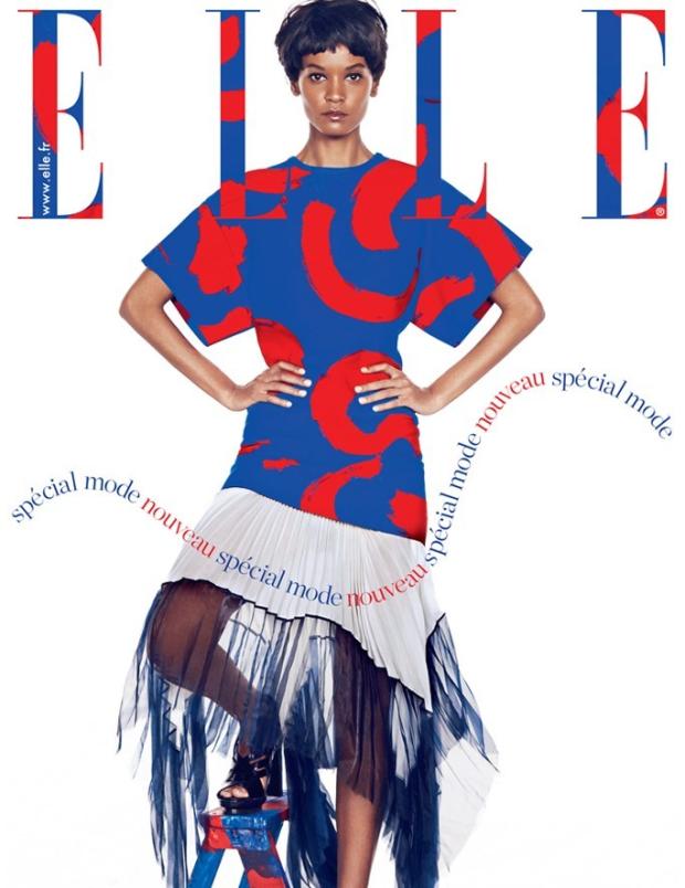 Liya Kebede pour ELLE France