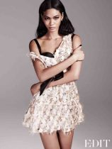 Chanel Iman for THE EDIT