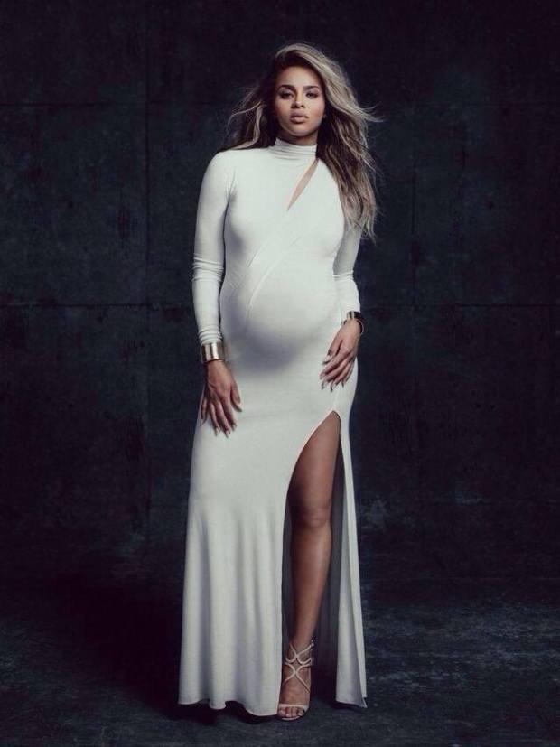 Ciara for W magazine