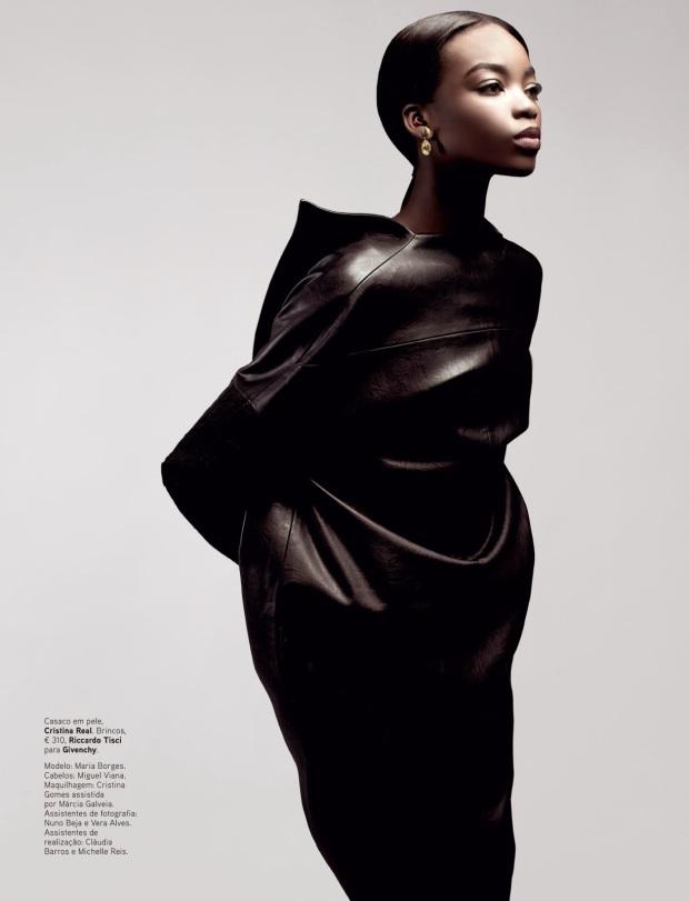 Maria Borges by Rui Aguiar for Vogue Portugal