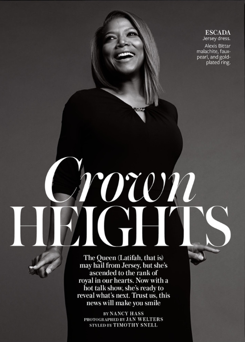 QueenLatifah For InStyleMagazine May 2014 Issue