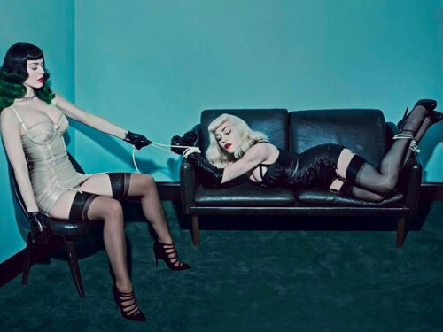 Madonna & Katy Perry Grace The Cover Of V Magazine