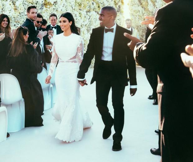 MARIAGE DE KIM KARDASHIAN & KANYE WEST