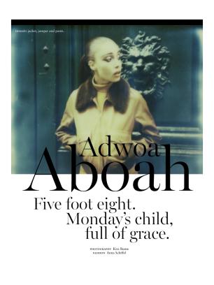 ADWOA ABOAH - RUSSH MAGAZINE DECEMBER/JANUARY 13.14