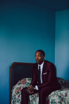 Anthony Mackie photographed by Nicholas Maggio.