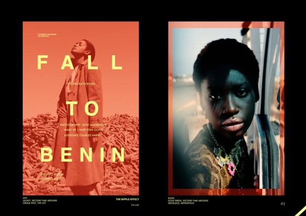 Cheryl and Eunice by Kent Andreasen  for the Autumn 13′ edition of Chasseur Magazine