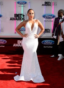 Adrienne Bailon at the BET AWARDS '14 : Michael Costello