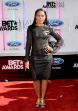 Angela Simmons BET Awards 2014