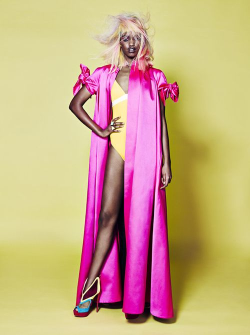 Farhiya Shire for Glamour Magazine Dutch Edition