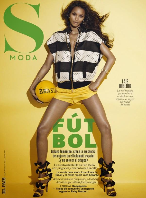 Lais Ribeiro pour S MODA Magazine