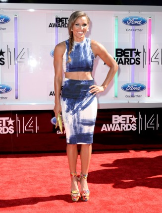 Lolo Jones BET Awards 2014