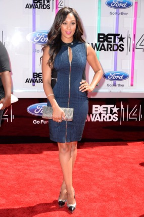 Tamera Mowry HousleyBET Awards 2014