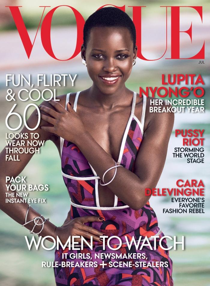 Lupita Nyong'o for Vogue US July 2014 – Maroc.
