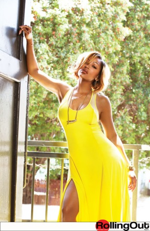 "Meagan Good SIZZLES On The Cover Of ""Rolling Out"