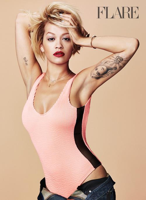 Rita Ora Stuns For Flare Magazine 2014.