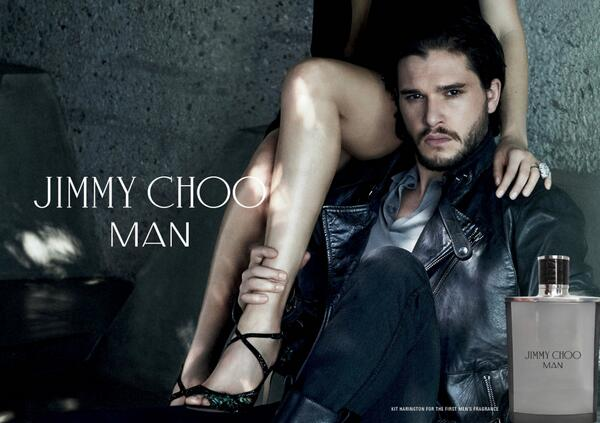 Kit harington égérie jimmy choo