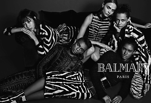 Balmain - Fall/Winter 2014 Ad Campaign