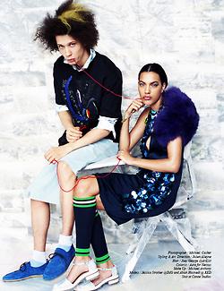 Jessica Strother and Abiah Hostvedt for Schön Magazine June 2014