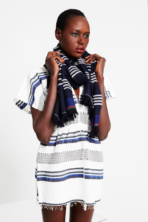 Ajak Deng for LEMLEM Pre-Fall 2014 Collection.