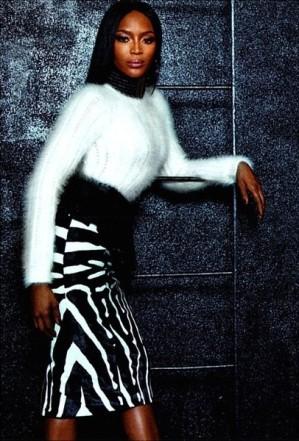Naomi x Rihanna x Iman x Oliver 🙌🙌🙌 #Balmain #WMagazine #SeptIssue #Fashion #Style