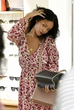 Rihanna shopping in Sardinia, Italy