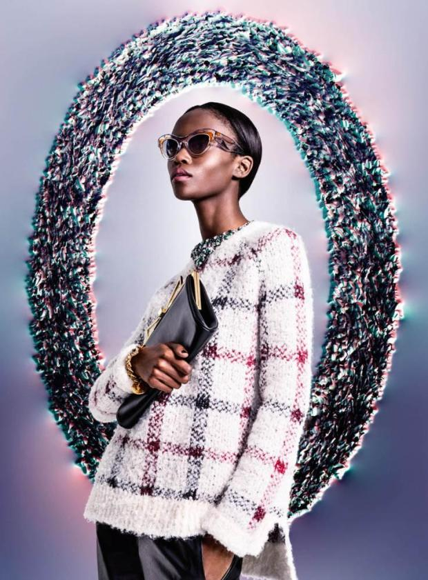 Riley Montana for KaDeWe Magazine Electric Bloom Fall/Winter 2014