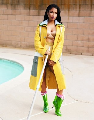 "Nicki Minaj in ""Twisted Fantasy"" for Dazed & Confused Magazine's A/W 2014 issue"