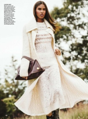 "Cindy Bruna in ""Fall Girls"" for Allure Magazine, November 2014"
