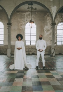 Solange Knowles's Wedding Image by Rog Walker