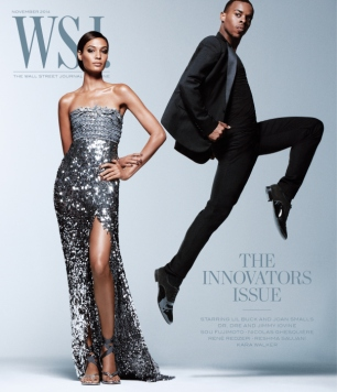 Joan Smalls & Lil Buck for WSJ Magazine November 2014
