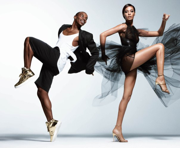 Joan Smalls & Lil Buck
