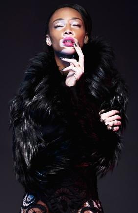 Chantelle Winnie en couverture du magazine Nord