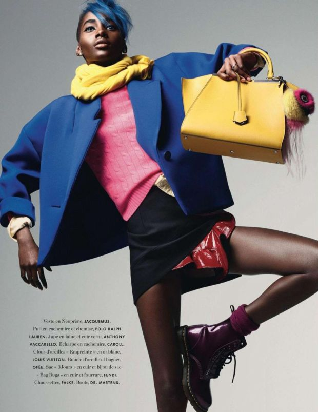 Tami Williams by Takay for Elle France December 2014