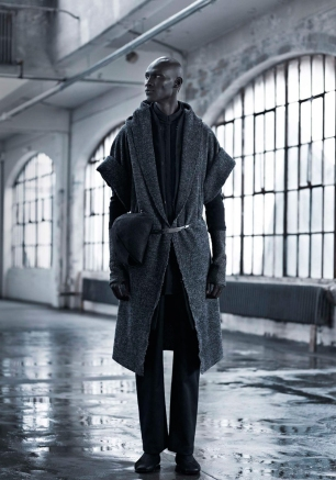 InAisce FW 13/14 Men's Collection featuring South Sudanese