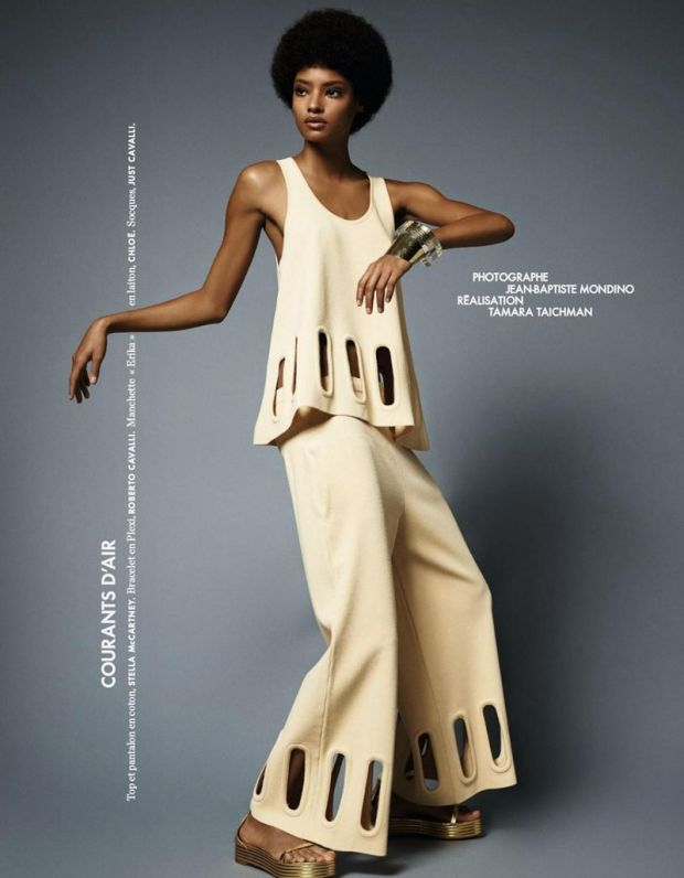 Malaika Firth - Elle France March 2015 Part 1