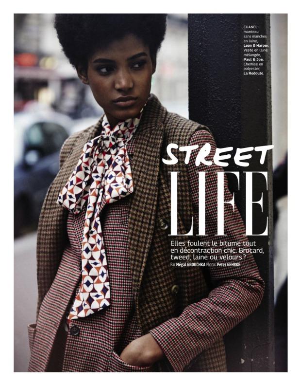 """Street Life"" - Grazia France December 11, 2015"