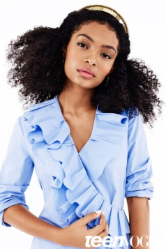 Yara Shahidi for Teen Vogue k